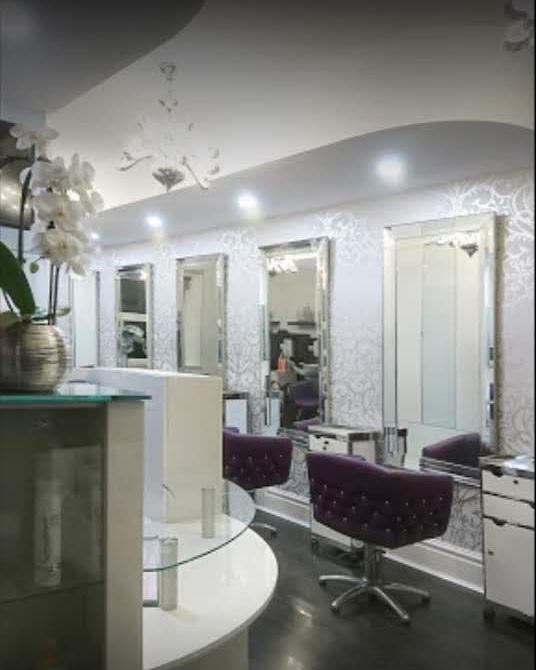 The salon has had a full refurbishment inside